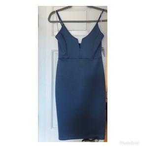 NWT- Windsor Light blue Mini dress